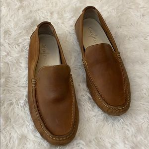 Cole Haan Tan Leather Men's Driving Shoes sz 8.5